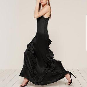 Reformation Angelica Dress in Black